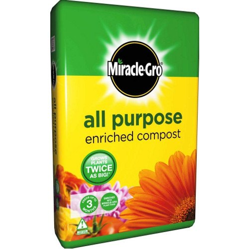 Miracle gro peat free all purpose compost 50l x2 - Miracle gro all purpose garden soil ...