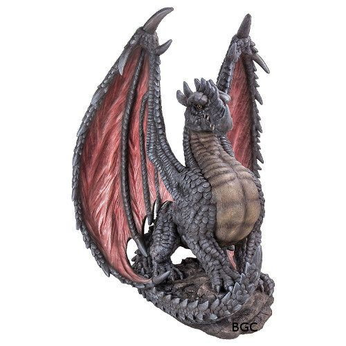 Mythical Dragon Small Ornament By, Large Dragon Garden Statues Uk