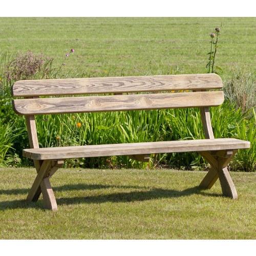 Magnificent Harriet Wooden Garden Bench By Zest 4 Leisure Inzonedesignstudio Interior Chair Design Inzonedesignstudiocom